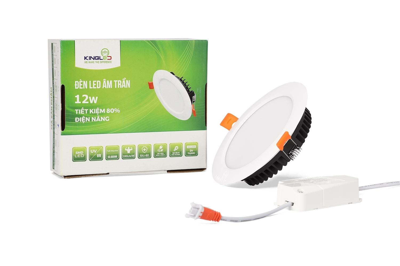 ĐÈN LED DOWNLIGHT 12W ĐỔI MÀU (DL-12-T140)
