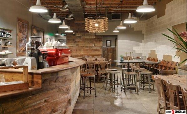 cách chọn đèn trang trí quán cafe đẹp mắt